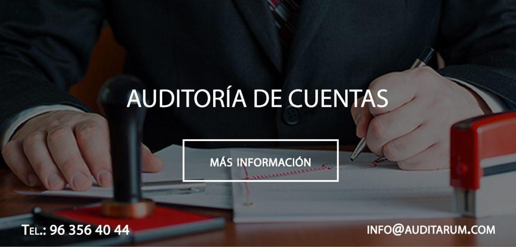 auditoria en cuentas anuales valencia